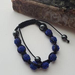 Swarovski, blue crystal bracelet
